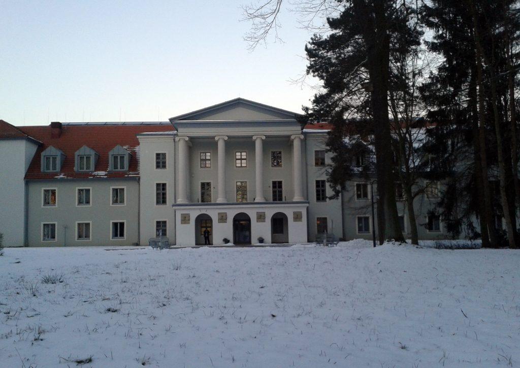 Schloss Löbichau nach dem Abriss 2009 (Foto: Museum Burg Posterstein)
