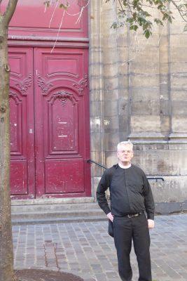 Pasteur Alain Joly, Eglise des Billettes, Paris, Frankreich