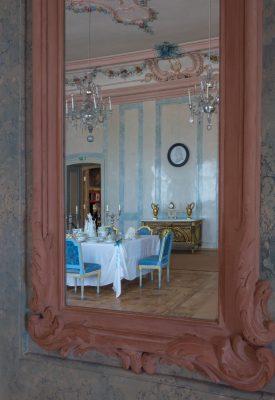 Esszimmer im  Schloss Ruhental  (Rundāle), Lettland, Foto: Imants Lancmanis/ Creative Museum